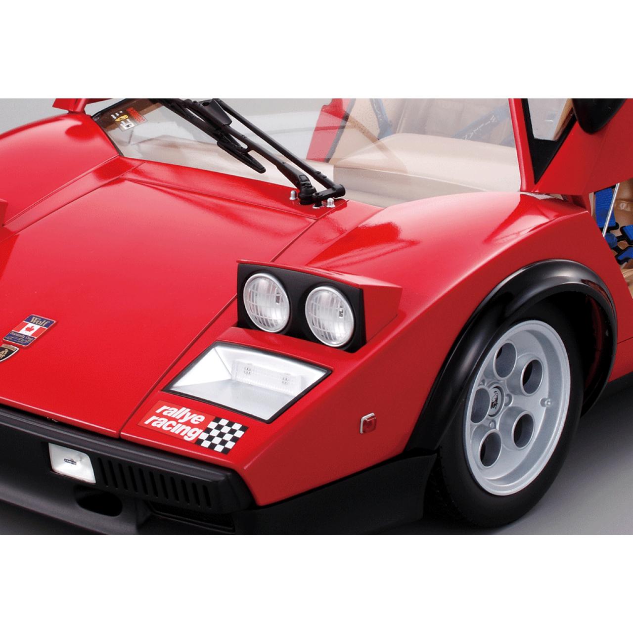 Build The Lamborghini Countach Lp500s 1 8 Car Scale Model Full