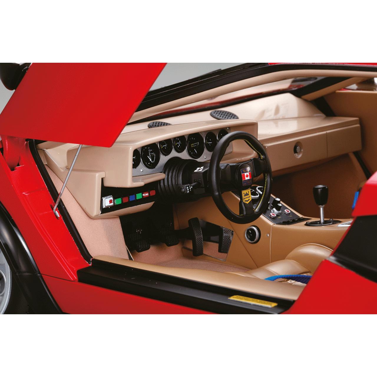 Build The Lamborghini Countach LP500S