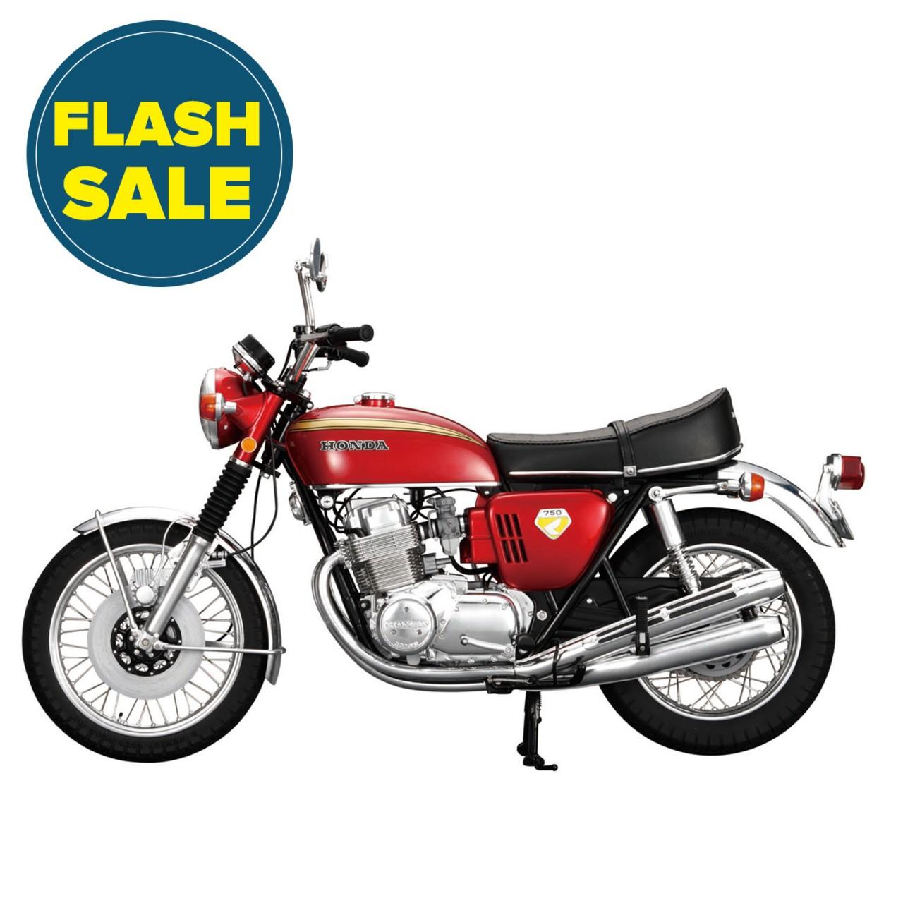 Honda Cb750 Motorcycle Model 14 Scale Full Kit Modelspace