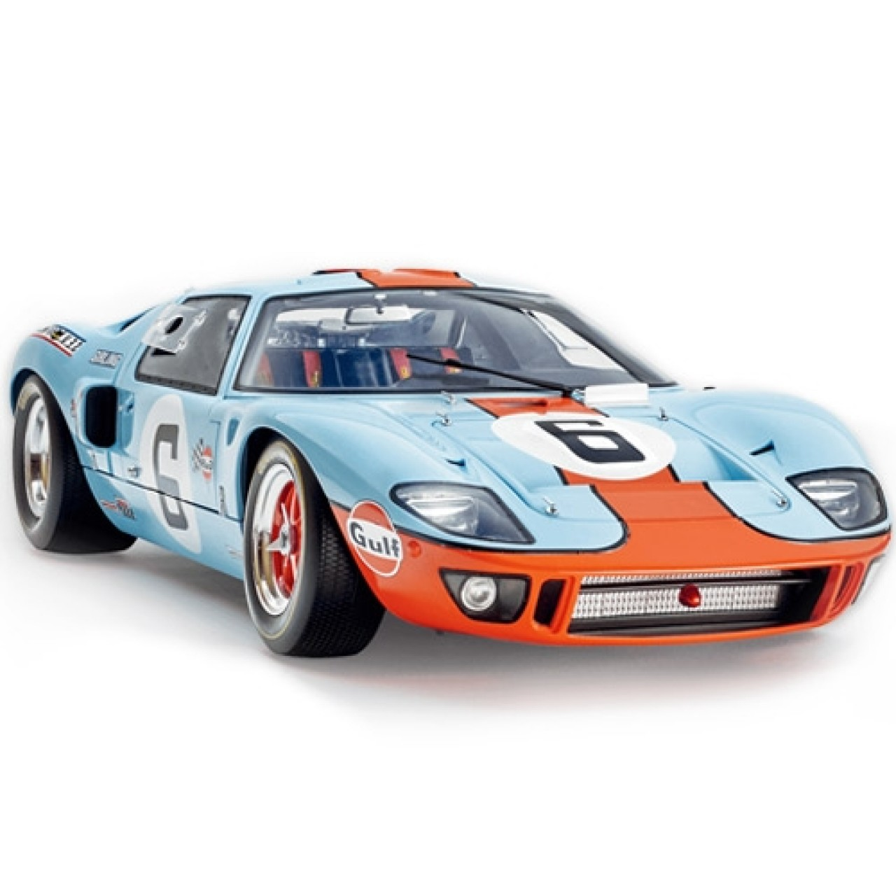 Build your Own Ford GT40 Model Car in 1:8 Scale | ModelSpace