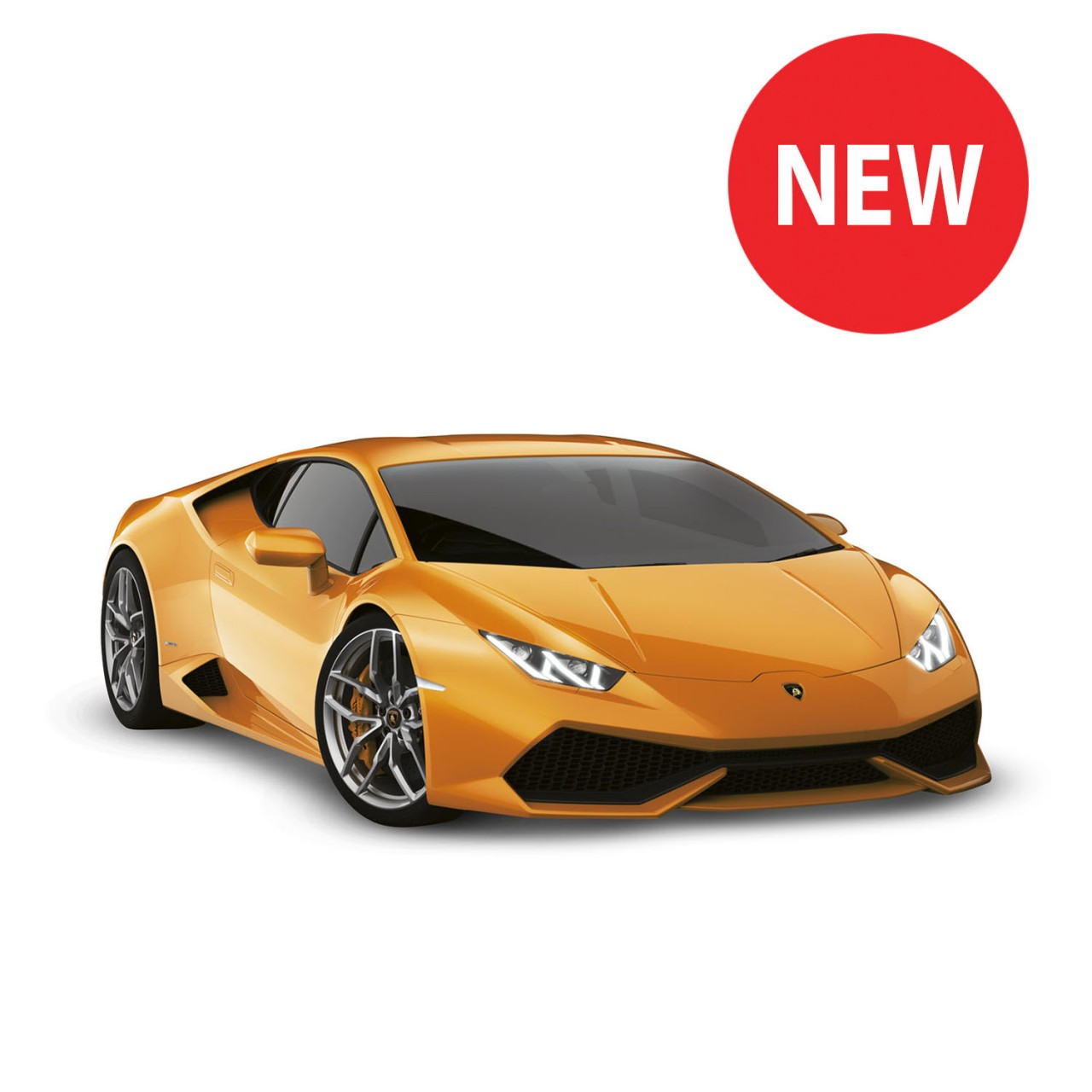 lamborghini huracán model car 1:10 scale full kit | modelspace