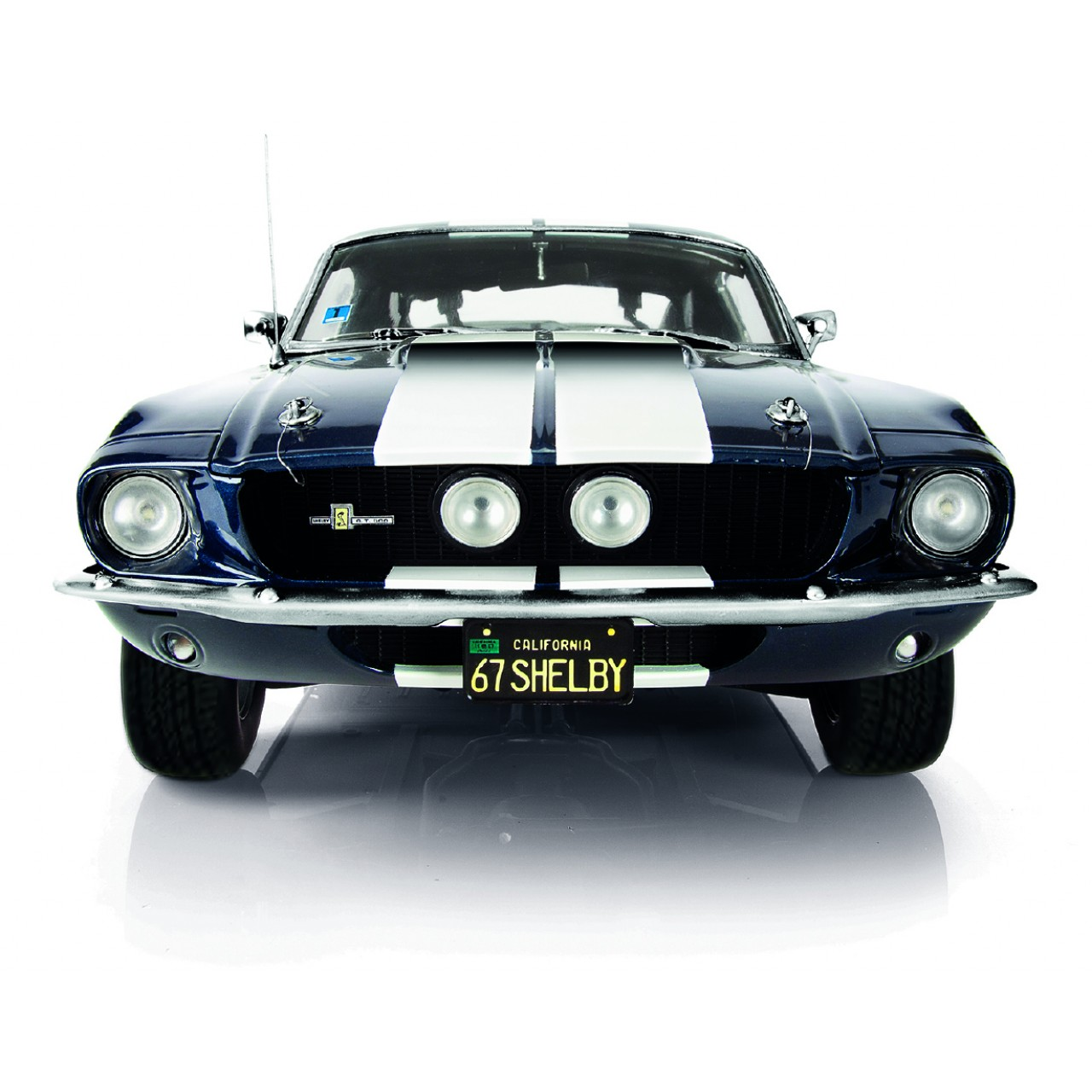 Cars For Kids >> Ford Mustang Shelby GT 500 Model Car Kit | ModelSpace