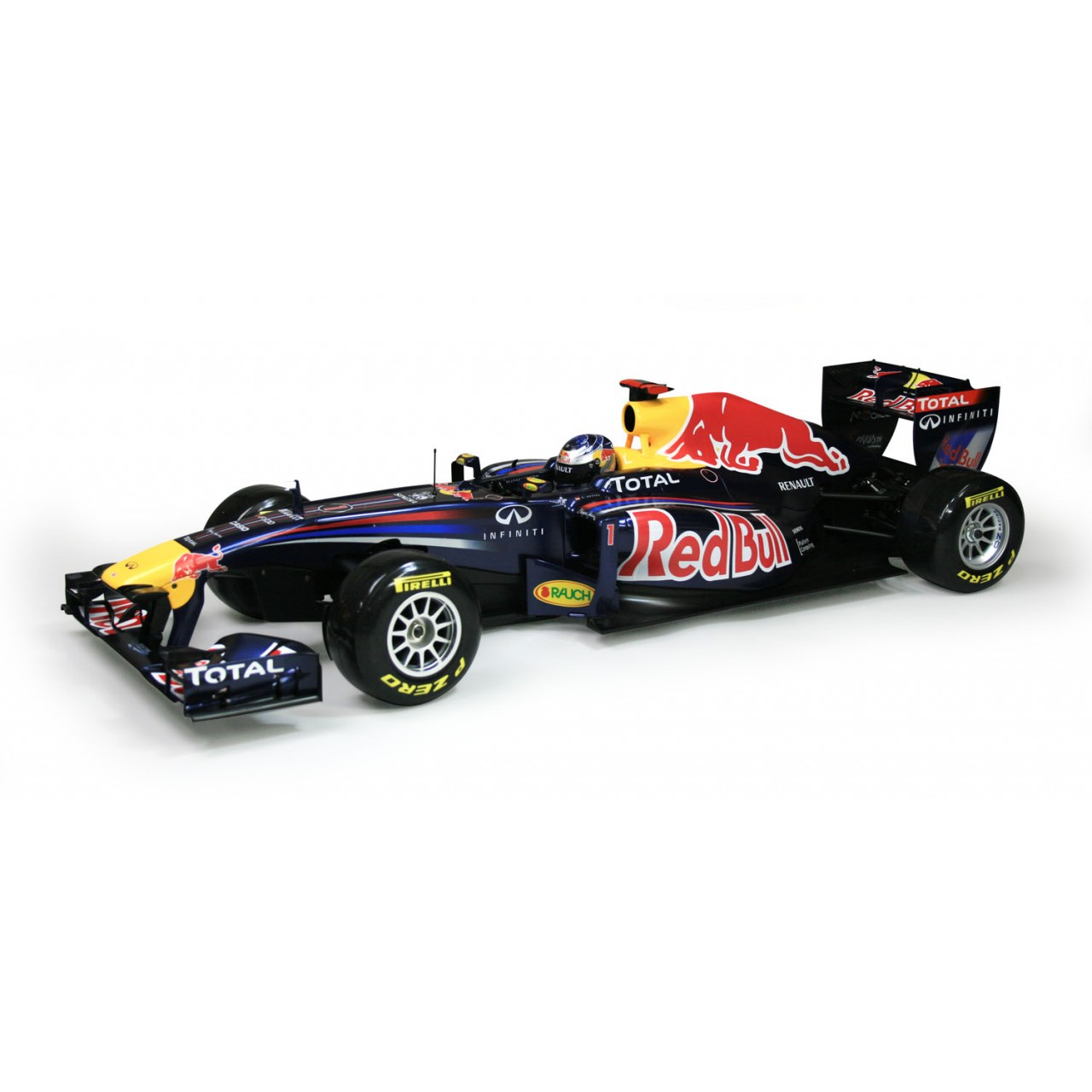 Red Bull Racing Rb7 Model Race Car Full Kit Modelspace