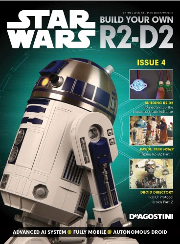 Build your own R2-D2 - Magazine 4