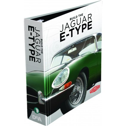 Jaguar E-type | 1:8 Model | Binders Set