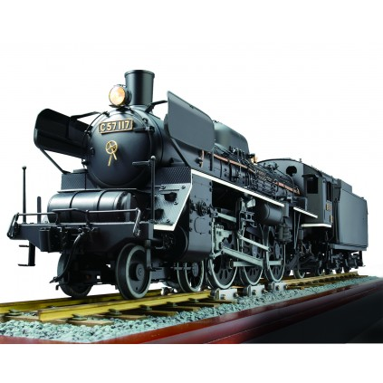 Build the C57 Locomotive