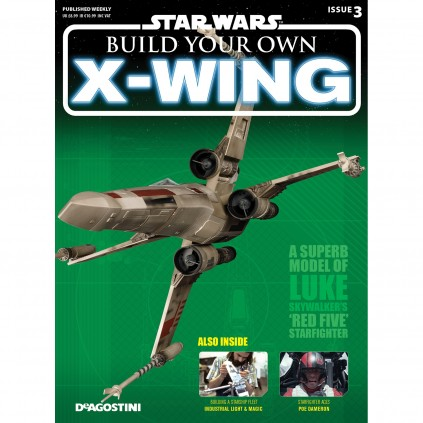 X-wing | 1:18 Scale  | Magazine 3