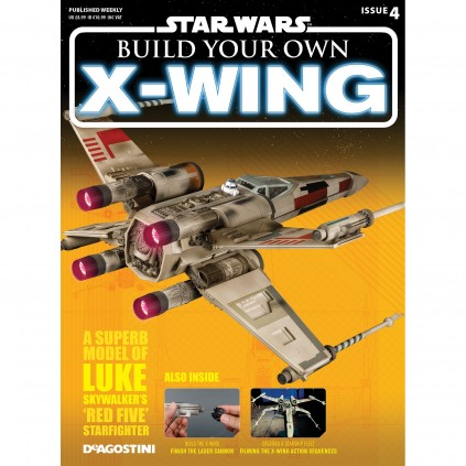 X-wing | 1:18 Scale  | Magazine 4
