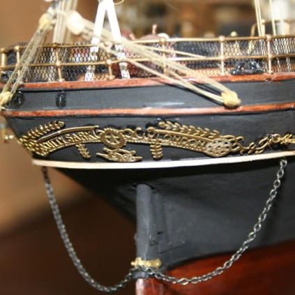 Cutty Sark - 1:84 scale model