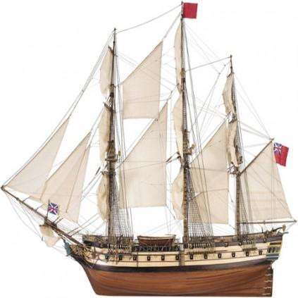 HMS Surprise 1:84 scale model