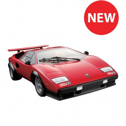 NEW AVAILABLE: Lamborghini Countach 1:8 full kit model