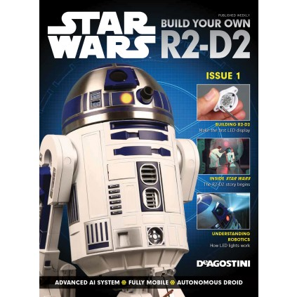 Build your own R2-D2 - Magazine 1