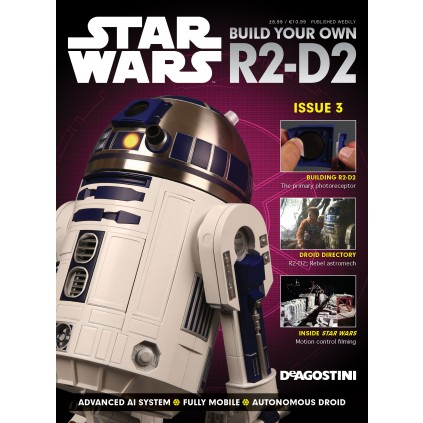 Build your own R2-D2 - Magazine 3
