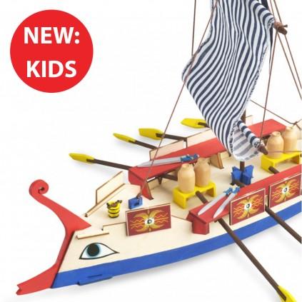 Roman Ship | Kids Collection | Full Kit