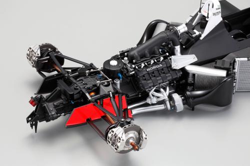 Ayrton Senna McLaren scale model