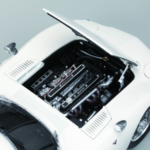Highly detailed replica of the Toyota 2000GT Model