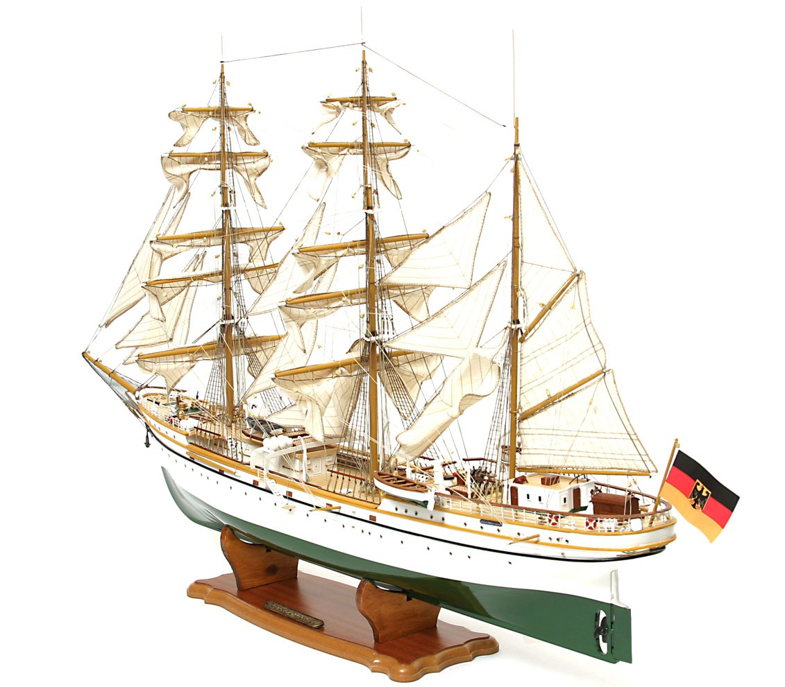gorch fock schiffsmodell modelspace. Black Bedroom Furniture Sets. Home Design Ideas