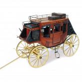 Alte Postkutsche 1848 | 1:10 Modell | Komplett-Set