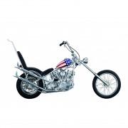 Easy Rider Motorrad | 1:4 Modell | Komplett-Set