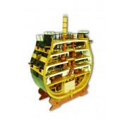 HMS Victory Querschnitt | 1:72 Modell | Komplett-Set