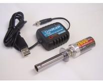 Kyosho-Glühkerzenstecker inkl. USB-Netzteil
