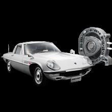 Baue das Mazda Cosmo Modellauto