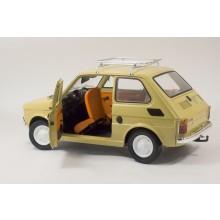 Baue das Fiat 126 Modellauto im Maßstab 1:8| ModelSpace