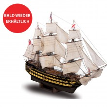 Admiral Nelsons HMS Victory - Maßstab 1:84