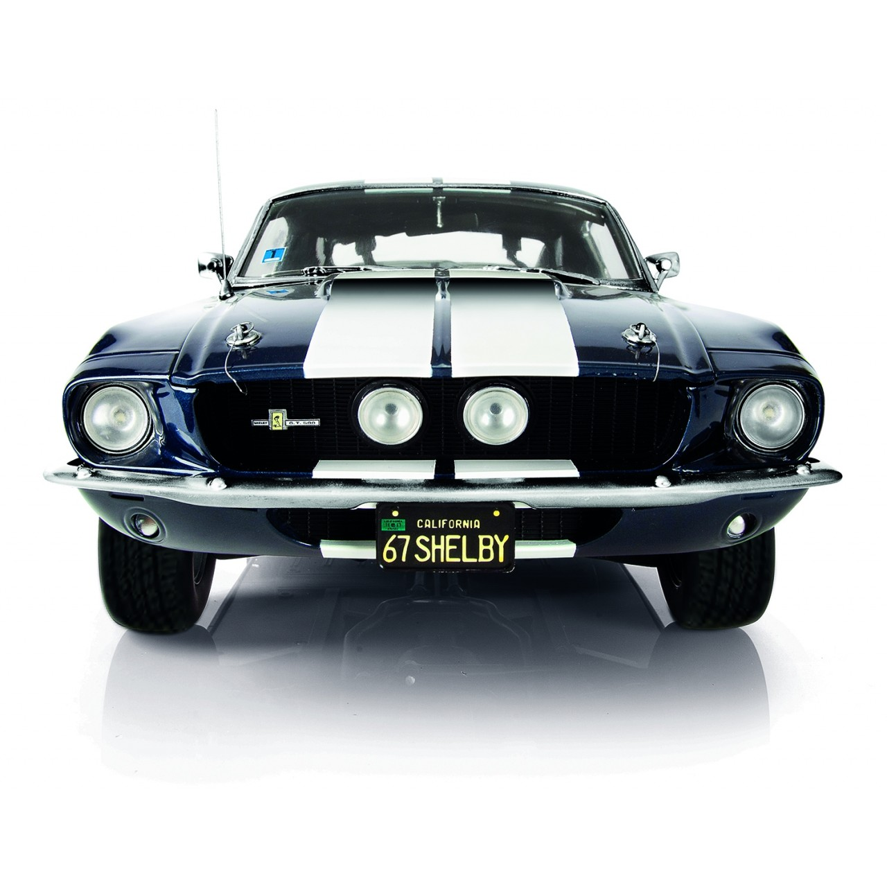 Ford Shelby Mustang Gt500 1 8 Modell De Agostini Modelspace