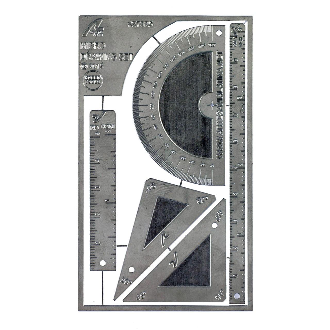 mikro lineal- und winkel-set | modelspace | modellbau-werkzeuge