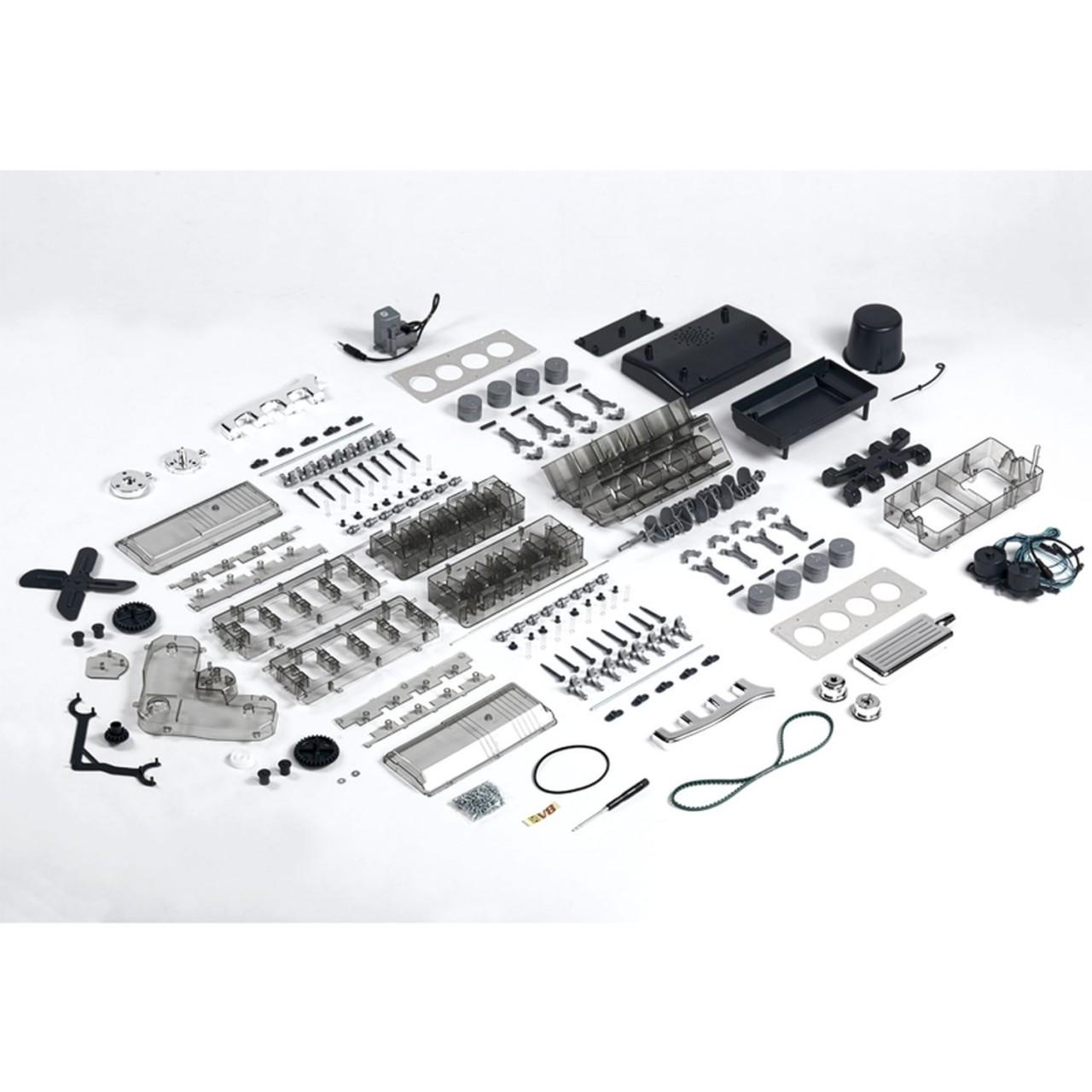 v8 motor bausatz modelspace. Black Bedroom Furniture Sets. Home Design Ideas