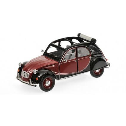 Citroën 2 CV Charleston  - Länge: 479 mm, Breite: 185 mm, Höhe: 197 mm