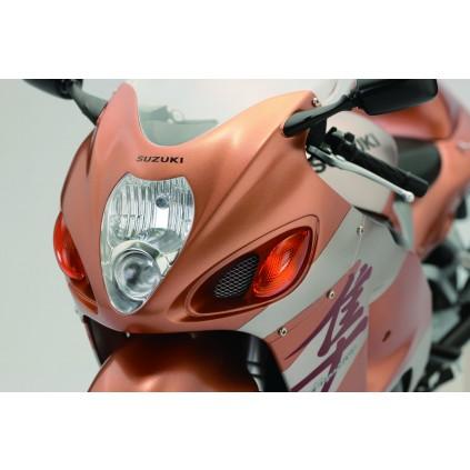 Suzuki GSX 1300R Hayabusa - Die Hayabusa verfügt über eine voll funktionsfähige Beleuchtung, die vom Sockel aus geschaltet wird.