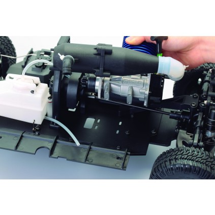 Bau und steuere den Hummer H1 - Startsystem: Seilzug
