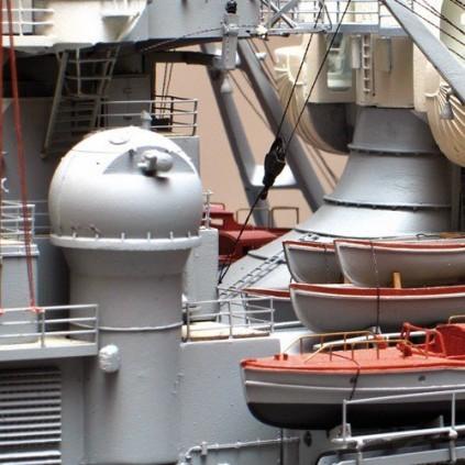 Bismarck | Modellschiff | Komplett-Set | Maßstab 1:200