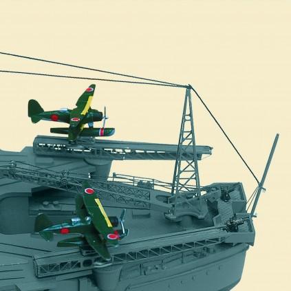 Bauen Sie die Yamato - Maßstab 1:250