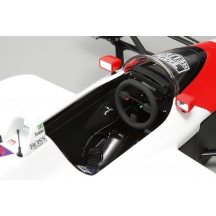 Bauen Sie den McLaren Honda MP4/4 - Das Lenkrad lässt sich wie beim Originalfahrzeug abnehmen.