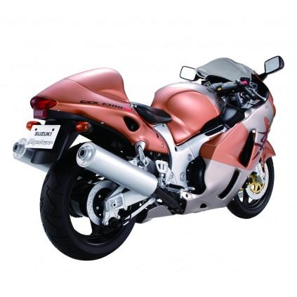 Suzuki GSX 1300R Hayabusa - Materialien: ABS, HIPS und Metallgussteile