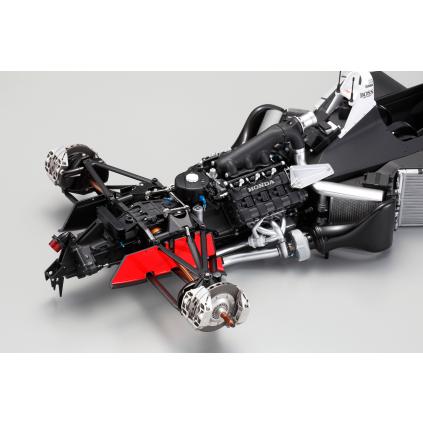 Bauen Sie den McLaren Honda MP4/4 - Sättel, Beläge und Scheiben sind originalgetreue Nachbildungen der Bauteile des großen Vorbilds.