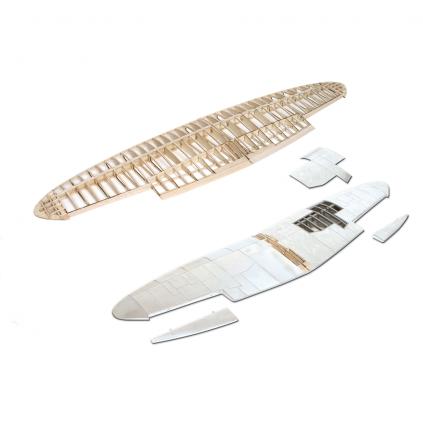 Bauen Sie die Supermarine Spitfire - Hochwertige Aluminium- und Holzbauteile