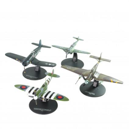 Flugzeuge Der Fliegerasse Des Zweiten Weltkriegs