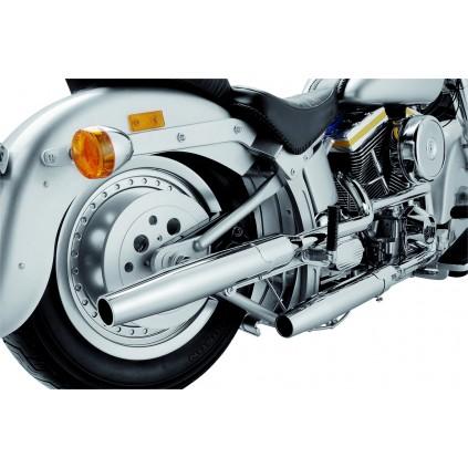Harley-Davidson Fat Boy - Die Doppelauspuff-Anlage