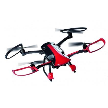 Bau und flieg die Sky Rider Drohne - Polycarbonatrahmen, ultraleichter Rumpf aus PVC