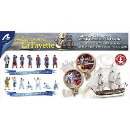 14 Metallfiguren | Hermione La Fayette