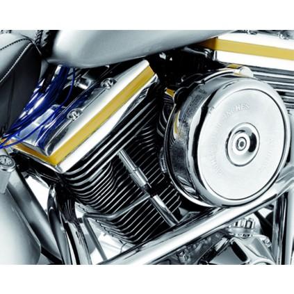 Harley-Davidson Fat Boy - Der externe Luftfilter