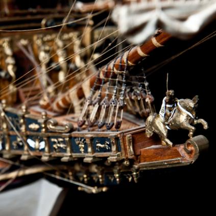 Bauen Sie die Sovereign of the Seas - Gallionsfigur aus hochwertigem Gussmetall