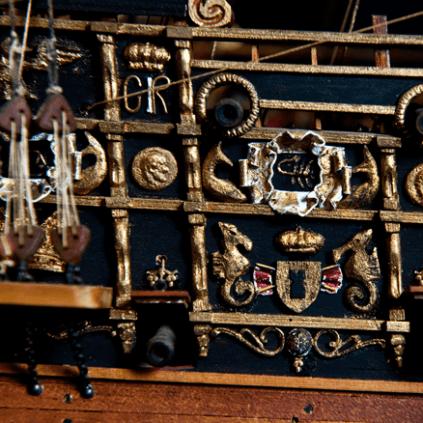 Bauen Sie die Sovereign of the Seas - Breite: 400 mm
