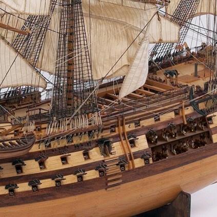 Admiral Nelsons HMS Victory - Optional sichtbarer Innenbereich