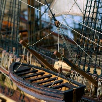 Admiral Nelsons HMS Victory - Authentisch bis ins letzte Detail.