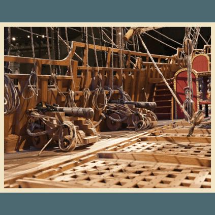 Bauen Sie die Vasa im Maßstab 1:65